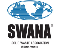 The logo of the Solid Waste Association of North America