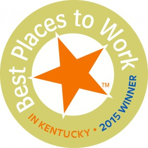 The logo for the Best Places to Work in Kentucky Award