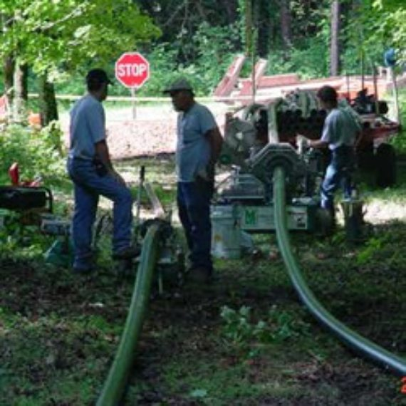 Water system in Caveland, Kentucky