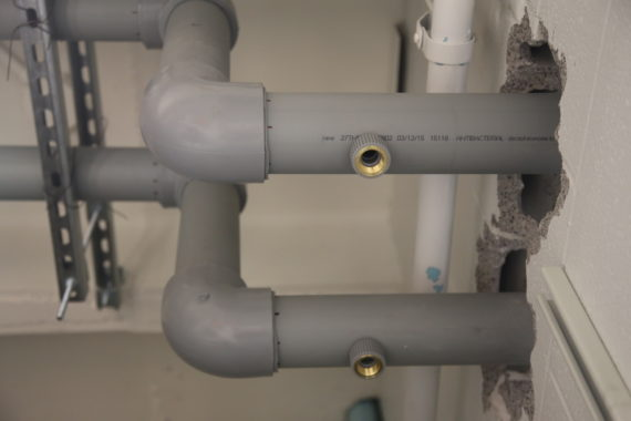 PPR pipe installation